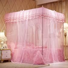 amazon com mosquito net bed canopy lace luxury 4 corner square