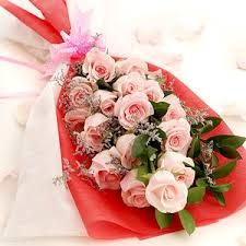 Bouquet Of Roses Attractive Bouquet Of Light Pink Roses