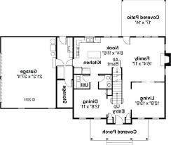 simple house floor plans with measurements simple rectangular house plan amazing chic 3 simple rectangular 4