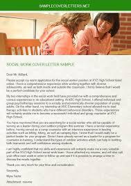 social work cover letter for resume medical social work cover