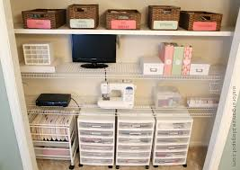 Closet Storage Units O Is For Organize A Crafty Office Closet