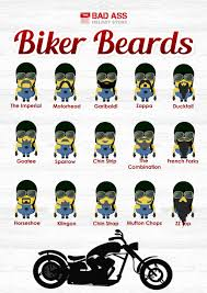 beer goggles motocross minion beard guide