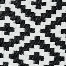 Geometric Outdoor Rug Black And White Outdoor Rug Home Lifestyle Troy Outdoor Rug In