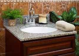 Granite Bathroom Vanity by Lesscare U003e Bathroom U003e Vanity Tops U003e Granite Tops U003e Burlywood
