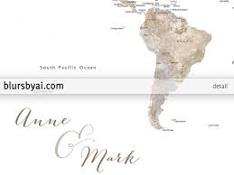 Colombia World Map by Personalized Printable World Map With Countries And States