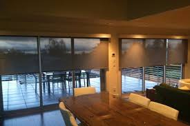Solar Shades For Patio Doors Budget Blinds Seattle Wa Custom Window Coverings Shutters