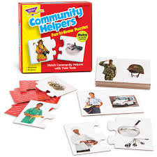 trend community helpers alphabet puzzle set 3