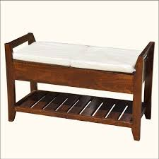 Cushioned Storage Bench Cushioned Benches Cushioned Bench With Storage Gnasche Cushioned