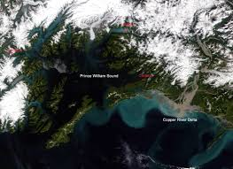 Cordova Alaska Map by Northwest Explorer Prince William Sound 1999