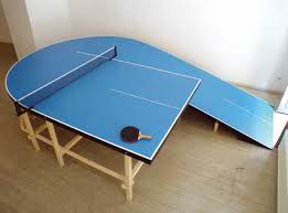custom table tennis racket 10 cool and unusual table tennis table designs from around the world