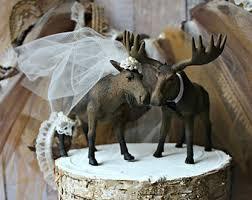 blue moose wedding band moose wedding etsy