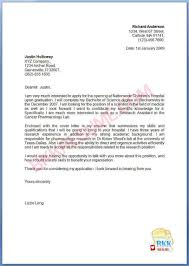 Ideas Collection Example Cover Letter Ideas Collection Example Cover Letter For Recent Lpn Graduate On