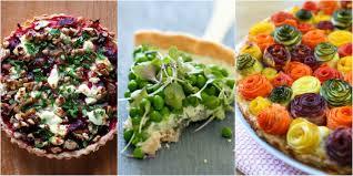 savory thanksgiving recipes savory tart recipes ideas for savory tarts delish com