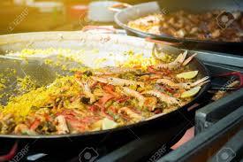 cuisine traditionnelle espagnole nourriture de rue à la fête de san fermin pamlona navarra