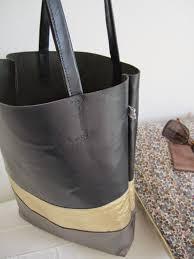 patron couture sac cabas elles adorent u2026 by elsa le cabas 3 cuirs tuto cabas inside