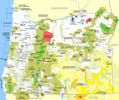 Google Map Of Oregon by Land Use In Oregon Wikipedia