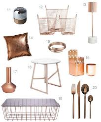 Gold Home Decor Accessories Best 25 Copper Home Accessories Ideas On Pinterest Copper