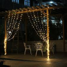 Outdoor Led Icicle Lights 4 5m X 3m 300 Led Icicle String Lights Lights