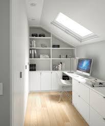 bureau sous pente bureau sous escalier meilleur de bureau sur mesure sous pente