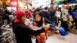 longer hours deals lure black friday shoppers npr
