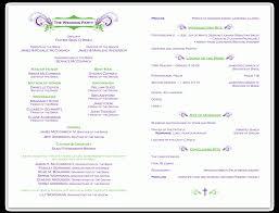 programs for wedding ceremony ceremony program wedding commonpence wedding blogs and hairstyles