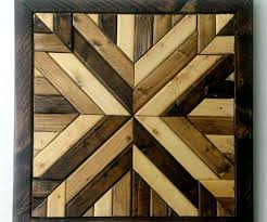 wood quilt square wall decoration 5 steps with pictures