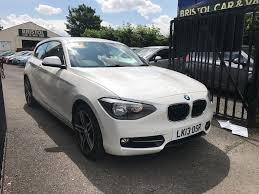 bmw 1 series 114i 1 6 petrol manual 3 door hatchback white 2013