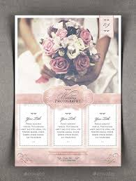wedding flyer watercolor wedding photography flyer by agape z graphicriver