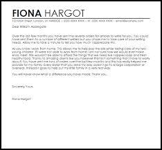 client appreciation letter appreciation letters livecareer