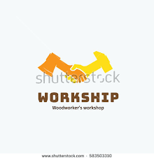 work friendship vector symbol icon logo stock vector 162771071