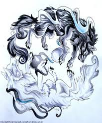 yin and yang wolves by lucky978 on deviantart