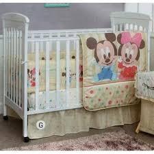 Minnie Crib Bedding Set Disney Baby Friends Minnie Mickey 5 Crib Bedding Set Small