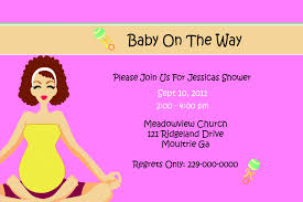 invitation baby shower email invitations template