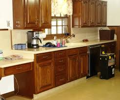 Rustoleum Kitchen Cabinets Painted Kitchen Cabinets Before And After Diy Nice To See How It
