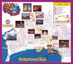 lima map city sightseeing lima travel map travelquaz com