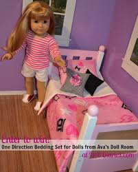 One Direction Comforter Set Giveaway U2013 One Direction Bedding Set For Dolls From Avasdollroom