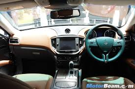 maserati interior maserati ghibli interiors motorbeam indian car bike news