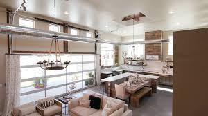 modern open floor plans modern open living space with kitchen lower right angle a