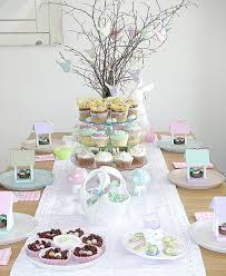 the trendy colors of easter easter decoration in pastel colors