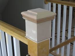 How To Build A Banister For Stairs Remodelaholic Stair Banister Renovation Using Existing Newel