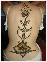 25 beautiful tribal back tattoos ideas on pinterest female