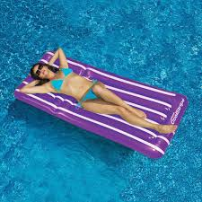 Inflatable Backyard Pools by Swimline Cool Stripe Inflatable Pool Raft 4 Color