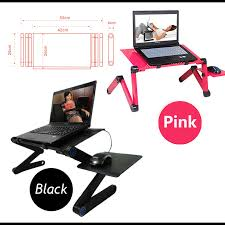 Sofa Laptop Desk Multi Functional Ergonomic Mobile Laptop Table Stand For Bed