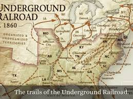 Underground Railroad Map Slavery By 209 Student