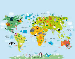 the whole wide world wallpaper mural plasticbanners com the whole wide world map wall mural