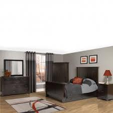 Shaker Bedroom Furniture by Amish Mission Bedroom Furniture Set Twin Bed Frame Dresser With