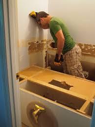 How To Remove Bathroom Mirror Simple Bathroom Vanity Removal U2013hah