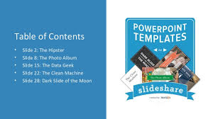5 power point templates for toastmasters