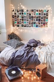 bedroom creative fairy lights bedroom decorating idea