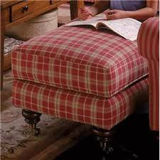 Plaid Chair And Ottoman by Alan White 37400 Casual Chair Bigfurniturewebsite Upholstered